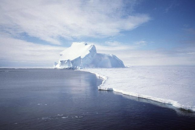 Temperatures are rising. Researchers suggest its only a matter of time before melting ice precipitates dramatic sea level rise. File photo by UPI Photo/NASA/GRACE team/DLR/Ben Holt Sr.