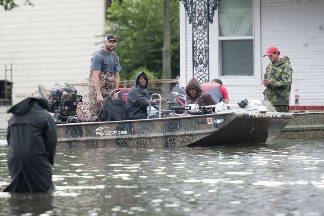Hurricane Harvey killed 36 people in Harris County, Texas. A woman, Nancy Reed, died of flood-necrotizing fasciitis, a flesh-eating bacteria she contracted after she fell into contaminated water in her home. File Photo by Sgt. 1st Class Malcolm McClendon/U.S. Army National Guard/UPI