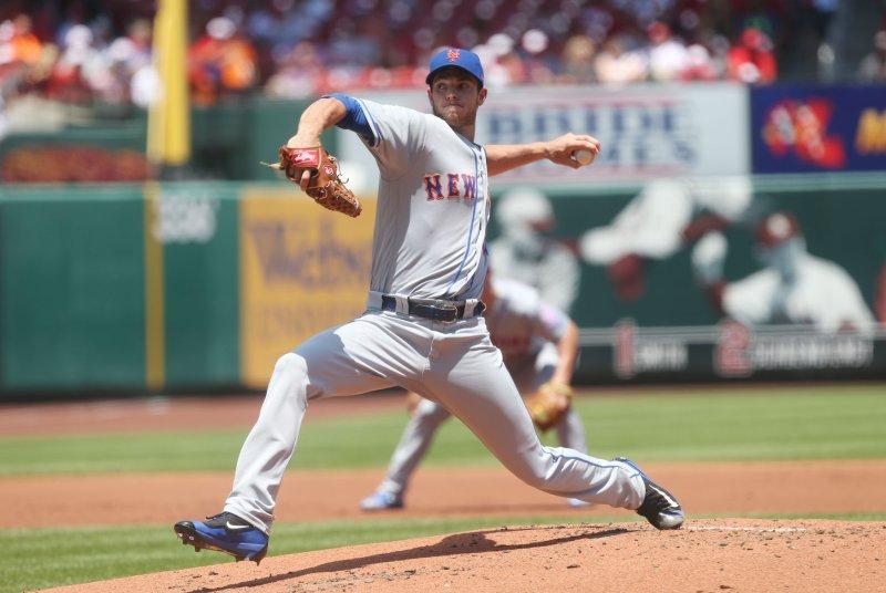 Steven Matz and the New York Mets face the San Francisco Giants on Thursday. Photo by Bill Greenblatt/UPI