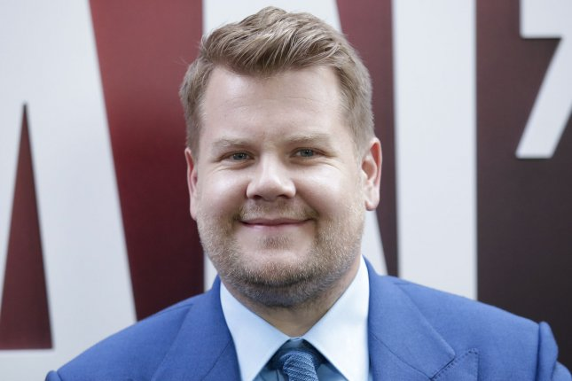 James Corden tweeted about BTS following the release of Love Yourself: Answer. File Photo by John Angelillo/UPI