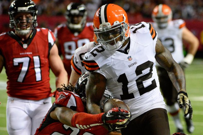 Cleveland Browns wide receiver Josh Gordon (12). File photo by David Tulis/UPI