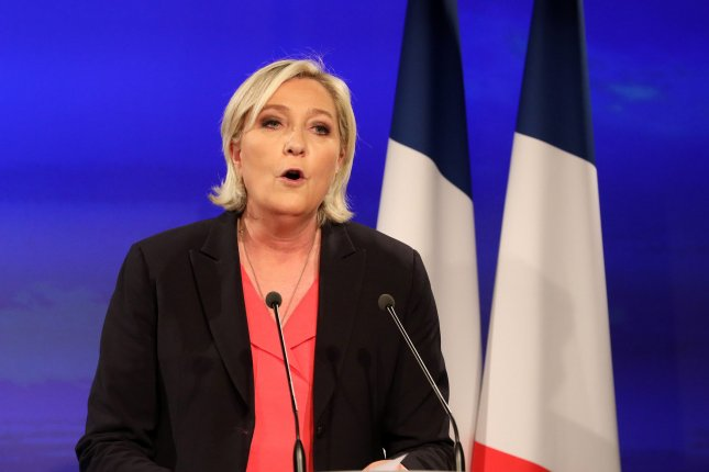 French far-right leader Marine Le Pen said on Twitter Thursday she would not undergo psychiatric tests ordered by a French court. File Photo by Maya Vidon-White/UPI