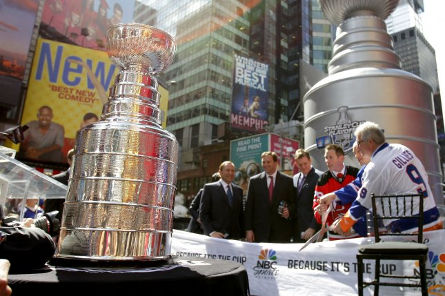 The Stanley Cup Final is expected to begin Sept. 22 and end no later than Oct. 4. File Photo by John Angelillo/UPI