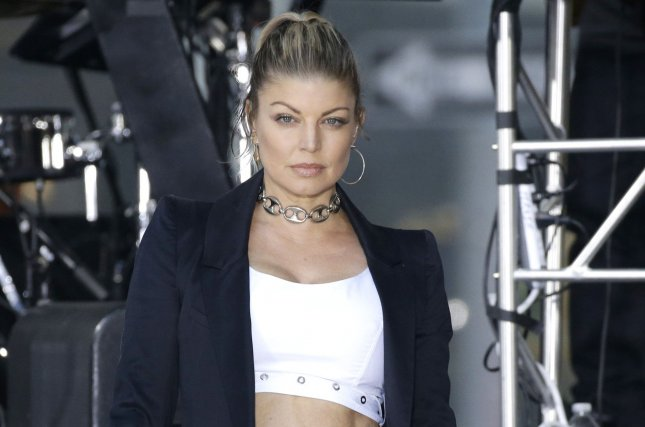 Fergie performs on Today on September 22, 2017. File Photo by John Angelillo/UPI