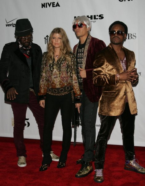 The Black Eyed Peas arrives at the Conde Nast Media Group Fifth Anniversary of Fashion Rocks at Radio City Music Hall in New York on September 5, 2008. (UPI Photo/Laura Cavanaugh)