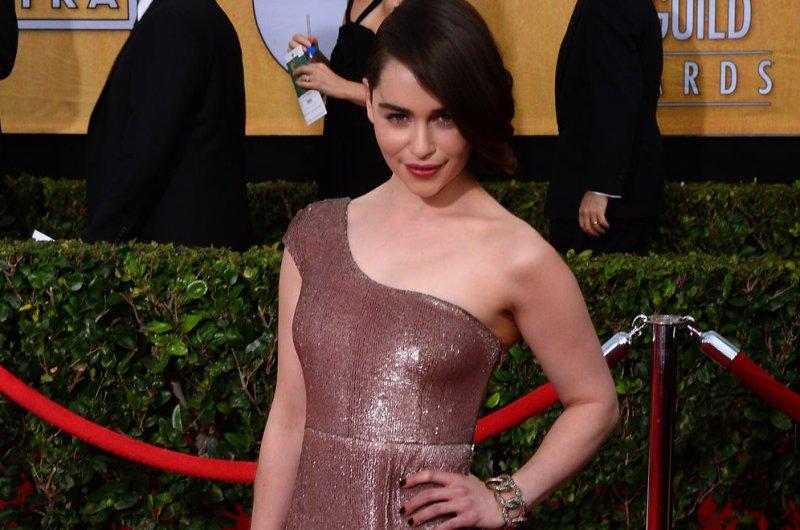 Emilia Clarke. UPI/Jim Ruymen