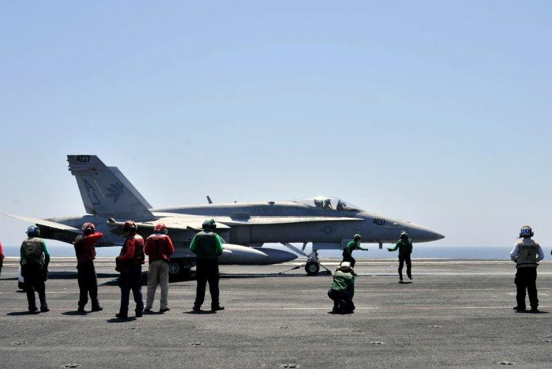 U.S. airstrikes target Islamic State militants surrounding Mosul Dam