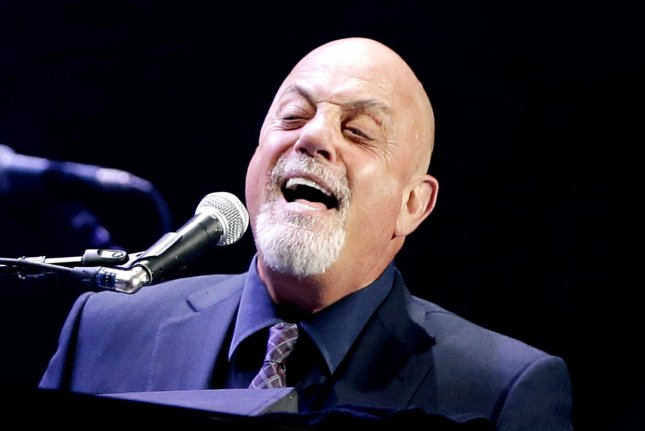 Billy Joel has no plans to release another album. (UPI/John Angelillo)