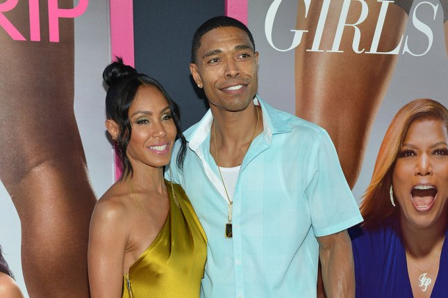 Jada Pinkett Smith (L) and brother Caleeb Pinkett attend the Los Angeles premiere of Girls Trip on Thursday. Photo by Christine Chew/UPI