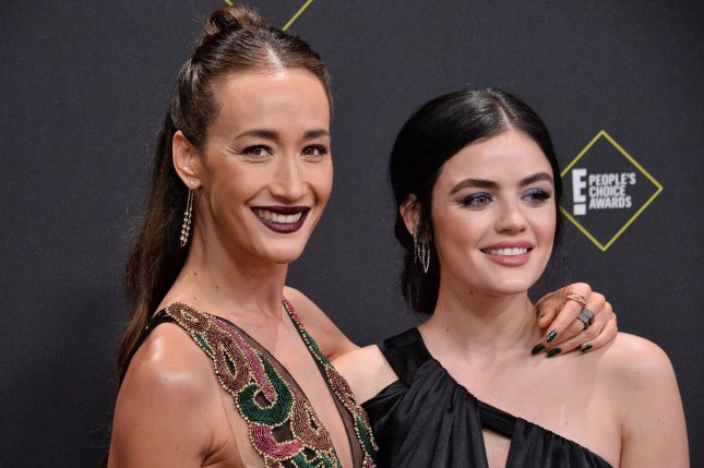 Maggie Q (L) and Lucy Hale star in a horror re-imagining of Fantasy Island, in theaters Feb. 14, 2020. Photo by Jim Ruymen/UPI