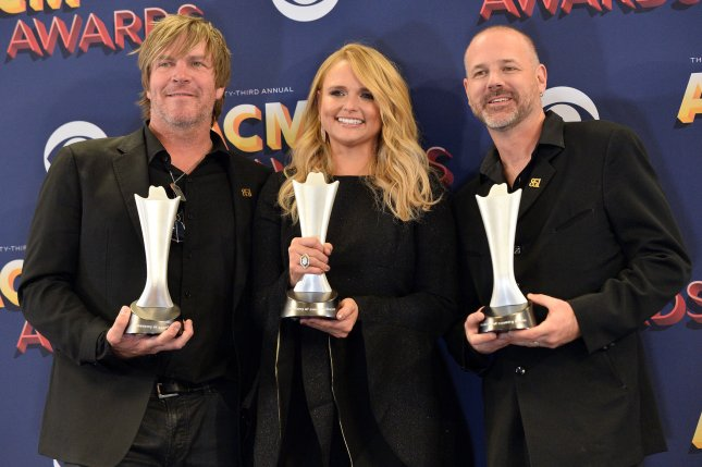 Left to right, Jack Ingram, Miranda Lambert and Jon Randall performed Two-Step Down to Texas, a song from their album The Marfa Tapes, on The Tonight Show starring Jimmy Fallon. File Photo by Jim Ruymen/UPI