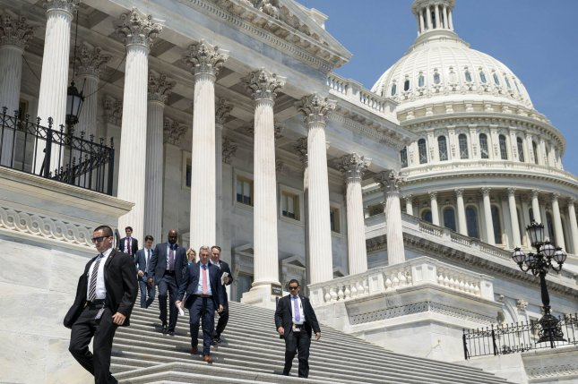 The U.S. House of Representatives on Thursday night voted 316-113 to pass the National Defense Authorization Act for Fiscal year 2022. File Photo by Sarah Silbiger/UPI