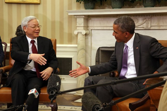 oval office july 2015. President Barack Obama Meets In The Oval Office Of White House With  General Secretary Nguyen Phu Trong Vietnam Washington, DC On July 7, 2015. Oval Office July 2015 H