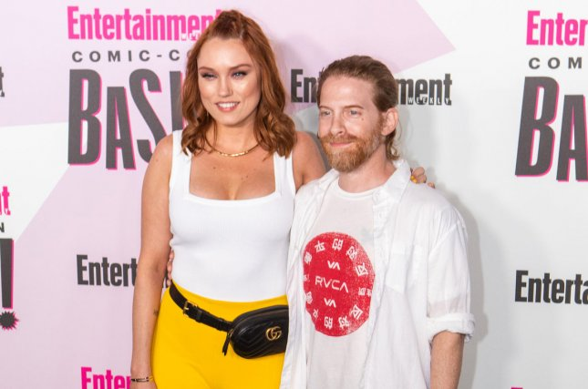 Seth Green (R), pictured with Clare Grant, said he can't wait for his movie Changeland to open in theaters. File Photo by Howard Shen/UPI