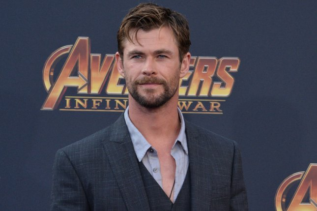 Avengers: Endgame star Chris Hemsworth was joined by Scarlett Johansson, Robert Downey Jr. and Paul Rudd on Jimmy Kimmel Live to discuss their time as Marvel superheroes. File Photo by Jim Ruymen/UPI.