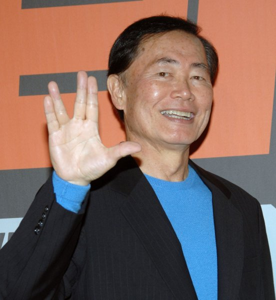 Actor George Takei, who will be among those appearing on the next run of Celebrity Apprentice. (UPI Photo Jim Ruymen)