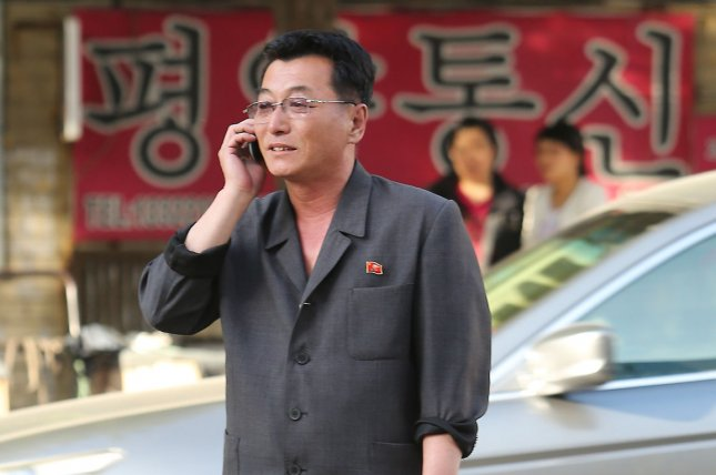 North Korean mobile phone subscription rates are highest in major cities, according to South Korean research published Tuesday. File Photo by Stephen Shaver/UPI