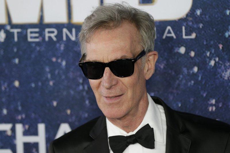 Bill Nye arrives on the red carpet at the Men In Black International premiere at AMC Loews Lincoln Square 13 on June 11, 2019, in New York City. He turns 65 on November 27. File Photo by John Angelillo/UPI