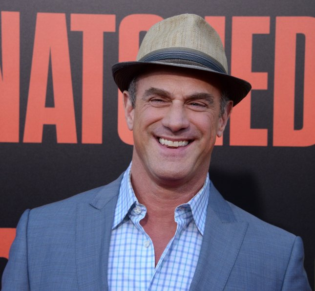 Christopher Meloni attends the premiere of Snatched at the Regency Village Theatre in the Westwood section of Los Angeles on May 10, 2017. The actor turns 60 on April 2. File Photo by Jim Ruymen/UPI