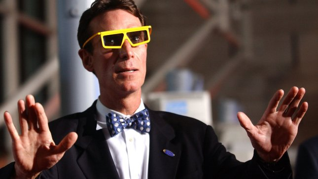 Keep an eye to the sky, says Bill Nye! (UPI/Photo Kevin Dietsch)