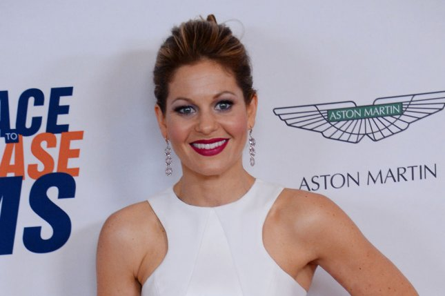 Candace Cameron Bure at the Race to Erase MS gala on May 2, 2014. The actress is rumored to replace Nicole Wallace on 'The View.' File photo by Jim Ruymen/UPI