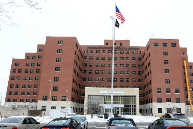 The John Cochran VA Medical Center in St. Louis is among 170 centers in the VA system nationwide. A Rand Corp. study found veterans receiving care in the VA healthcare system receive inpatient and outpatient treatment similar to other providers. File photo by Bill Greenblatt/UPI