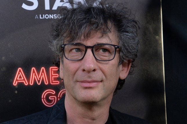 Neil Gaiman wrote the comic book series The Sandman. File Photo by Jim Ruymen/UPI