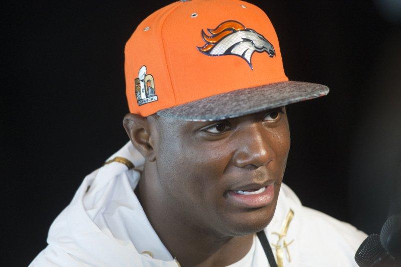Denver Broncos' DeMarcus Ware. Photo by Kevin Dietsch/UPI
