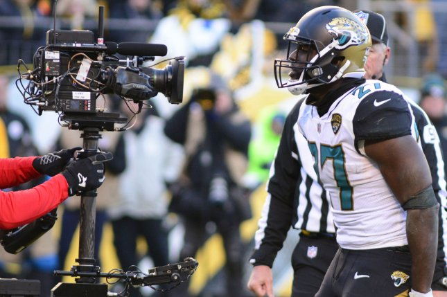 Jacksonville Jaguars running back Leonard Fournette missed eight games last season due to injuries and a suspension. File Photo by Archie Carpenter/UPI