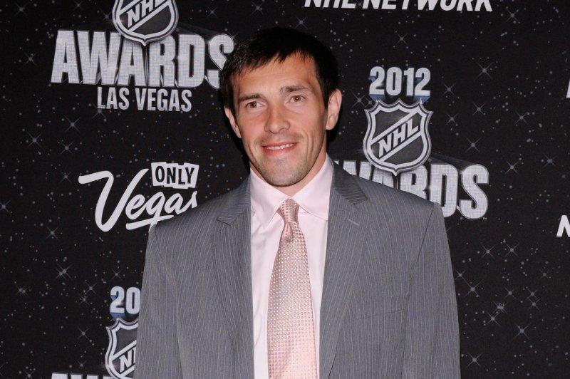 Pavel Datsyuk of the Detroit Red Wings. UPI/David Becker