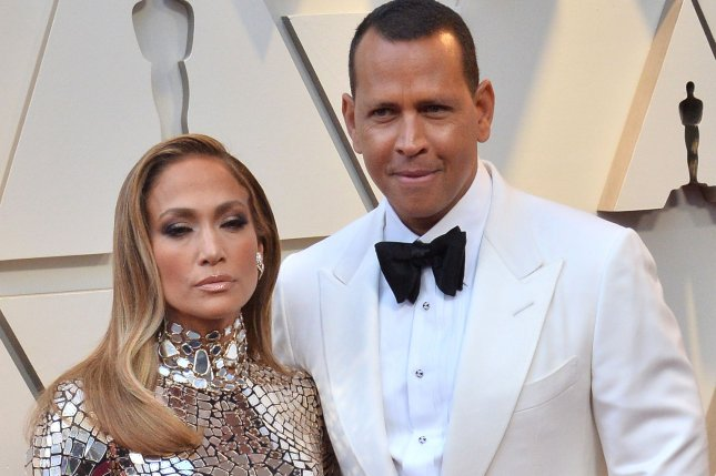 Actress-singer Jennifer Lopez and former pro baseball player Alex Rodriguez got engaged this weekend. File photo by Jim Ruymen/UPI