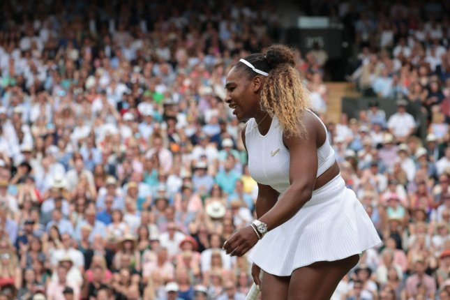 American Serena Williams was down 3-1 in the first set when she called for a medical timeout. File Photo by Hugo Philpott/UPI