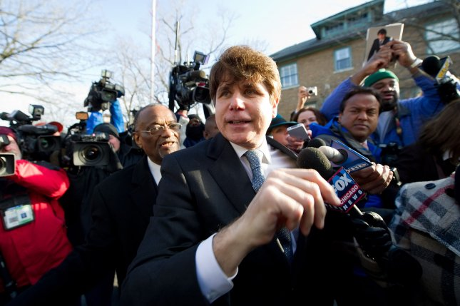 Former Illinois Gov. Rod Blagojevich was imprisoned on several corruption charges. File Photo by Brian Kersey/UPI