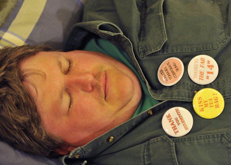 10 hours of sleep on weekend may reduce diabetes risk. UPI/Brian Kersey