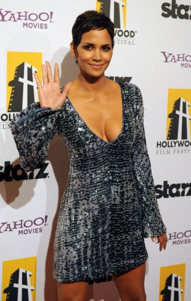 Actress Halle Berry arrives on the red carpet for the 14th annual Hollywood Film Festival Awards presented by Starz Entertainment at the Beverly Hilton Hotel in Beverly Hills, California on October 25, 2010. Honorees include: Sean Penn, Sylvester Stallone, Annette Bening, Robert Duval and Zach Galifanakis. UPI/Jim Ruymen