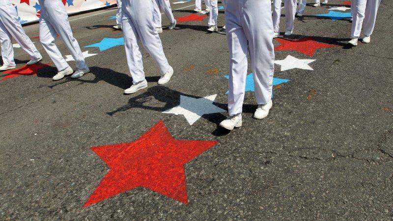 Fourth of July parade. (File/UPI/Bill Greenblatt)