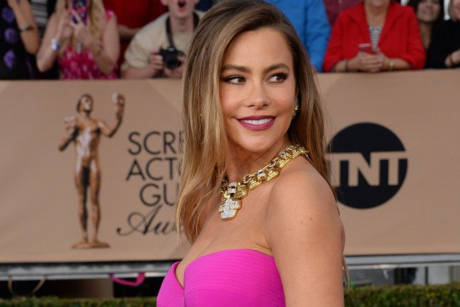 Actress Sofia Vergara attends the 22nd annual Screen Actors Guild Awards at the Shrine Auditorium & Expo Hall in Los Angeles, California on January 30, 2016. Photo by Jim Ruymen/UPI
