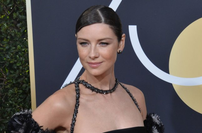 Caitriona Balfe stars as Claire Fraser in the Season 4 trailer for Outlander. File Photo by Jim Ruymen/UPI