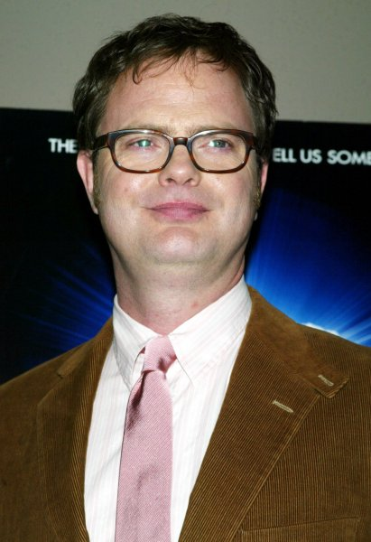 Rainn Wilson arrives for the premiere of his new movie The Last Mimzy at the American Museum of Natural History in New York on March 18, 2007. (UPI Photo/Laura Cavanaugh)