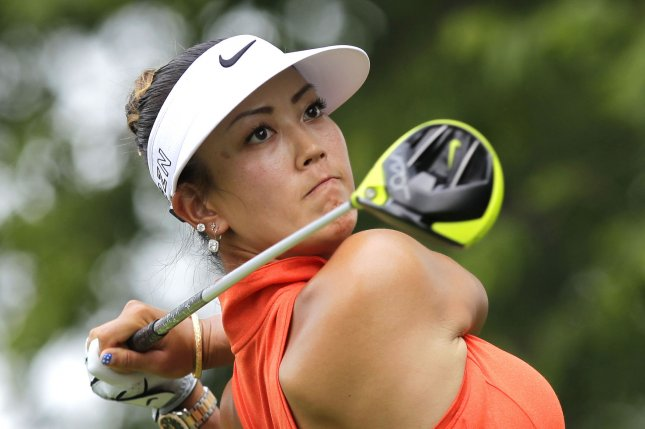 Michelle Wie will not take part in the U.S. Women's Open due to a wrist injury. She took to Twitter to fire back over insensitive comments made by well-known golf instructor Hank Haney. File Photo by John Angelillo/UPI