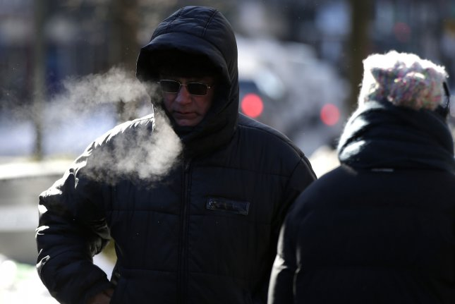 The Arctic blast is forecast for much of the Northeast in the coming days. File Photo by John Angelillo/UPI
