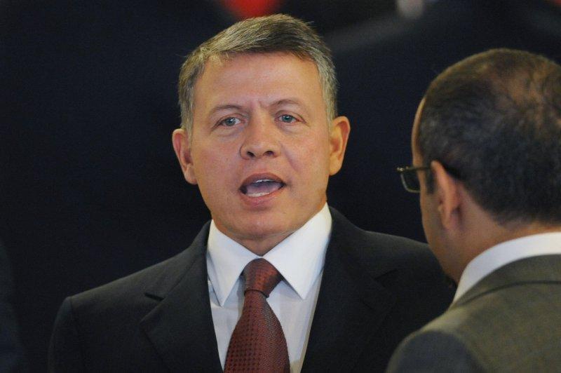 King Abdullah of Jordan, shown at a meeting in New York Sept. 23, 2010. UPI/Michael Reynolds/Pool
