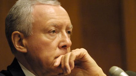 Orrin Hatch, a 36-year veteran of the U.S. Senate, overcame his young challenger in Utah's Republican primary Tuesday. 2011 file photo. Ricardo Watson. UPI