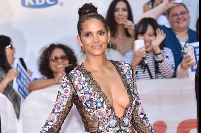 Halle Berry attends the Toronto International Film Festival premiere of Kings on Wednesday. Photo by Christine Chew/UPI
