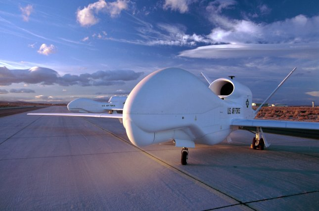 South Korea is to deploy surveillance aircraft Global Hawk by the end of December. File Photo courtesy of Northrop Grumman/UPI