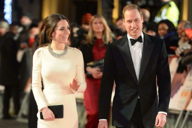 Catherine, Duchess of Cambridge and Prince William, Duke of Cambridge attend the Royal film performance of 'Mandela: Long Walk to Freedom' at The Odeon Leicester Square in London on December 5, 2013. UPI/Paul Treadway