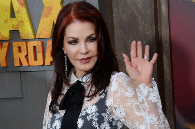 Priscilla Presley at the Los Angeles premiere of Mad Max: Fury Road on May 7, 2015. File Photo by Jim Ruymen/UPI