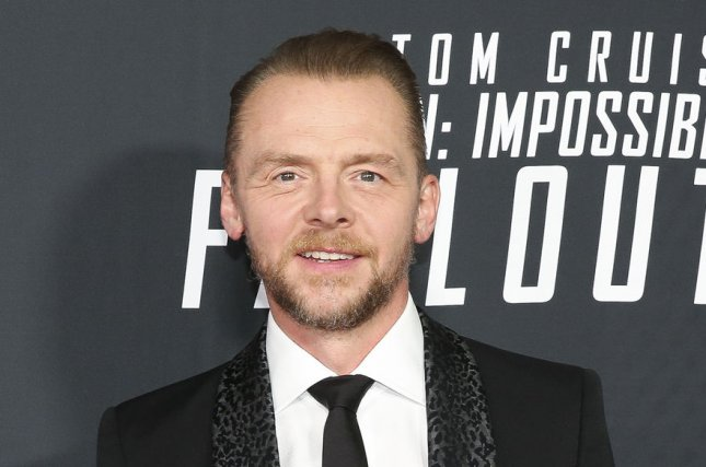 Shaun of the Dead star Simon Pegg is offering advice on how to survive the COVID-19 pandemic. File Photo by Oliver Contreras/UPI