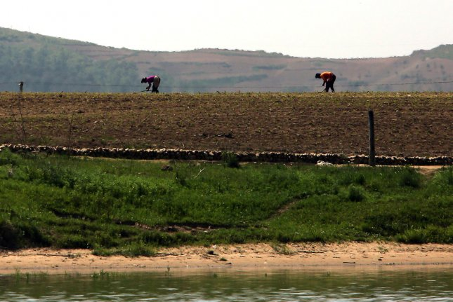 North Korean state media reported Monday that soil was drying out across the country. File Photo by Stephen Shaver/UPI