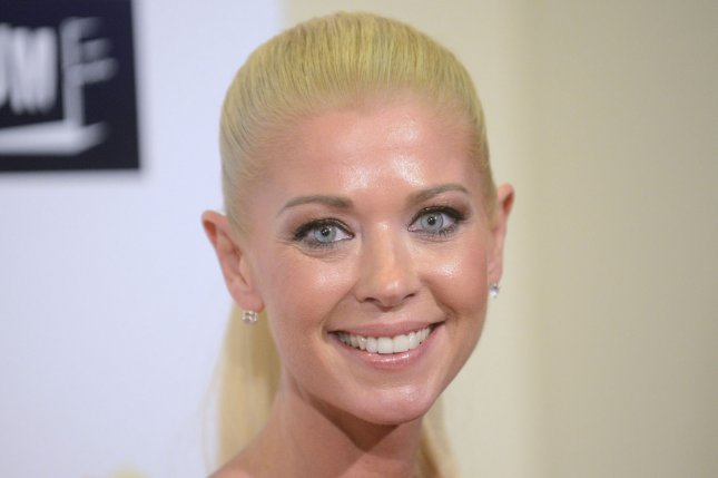 Tara Reid collaborated with Stan Lee on an Audi commercial. File photo by Phil McCarten/UPI